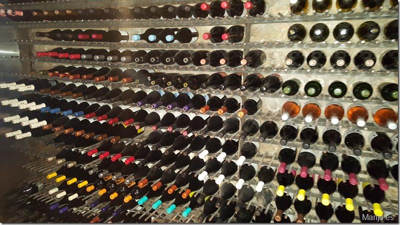 Bodega subterranea en Bocanariz - Vinos y bares en Santiago de Chile