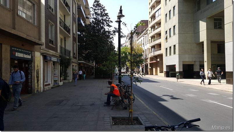 La calle Merced - Vinos y bares en Santiago de Chile