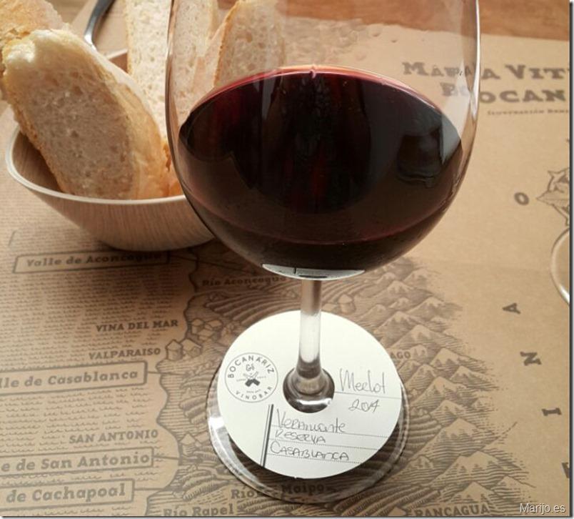 Una copa en Bocanariz - Vinos y bares en Santiago de Chile
