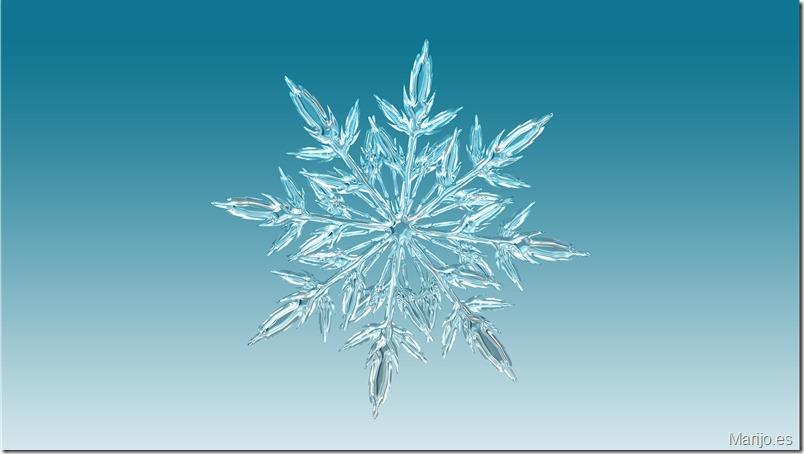 Copo de nieve - circo-hielo-madrid