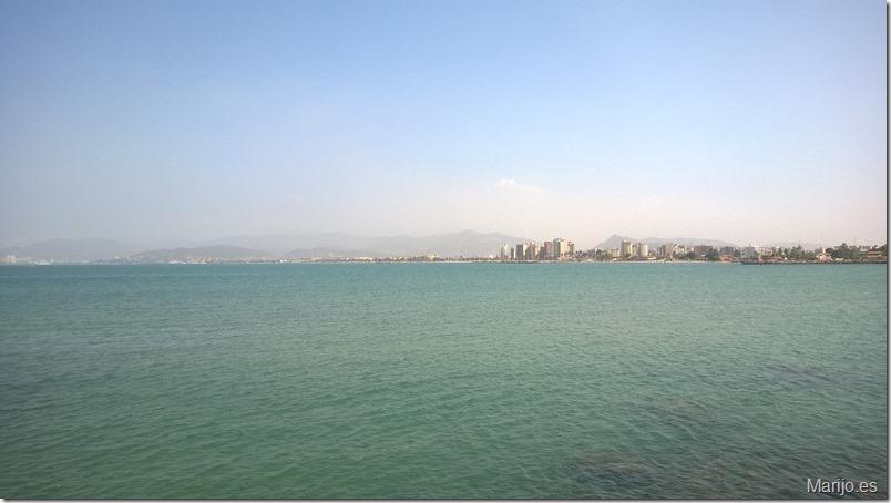 Vista playa hotel Punta Palma