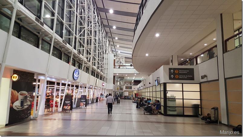 Estructura del aeropuerto de Santiago de Chile