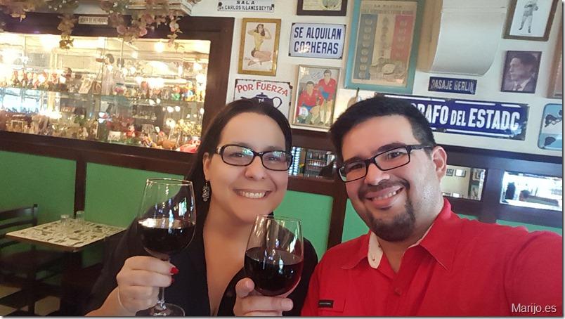 Nuestro primer brindis en el Bar Liguria - Vinos y bares en Santiago de Chile