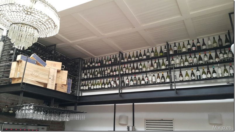 Salón del vinobar Bocanariz - Vinos y bares en Santiago de Chile