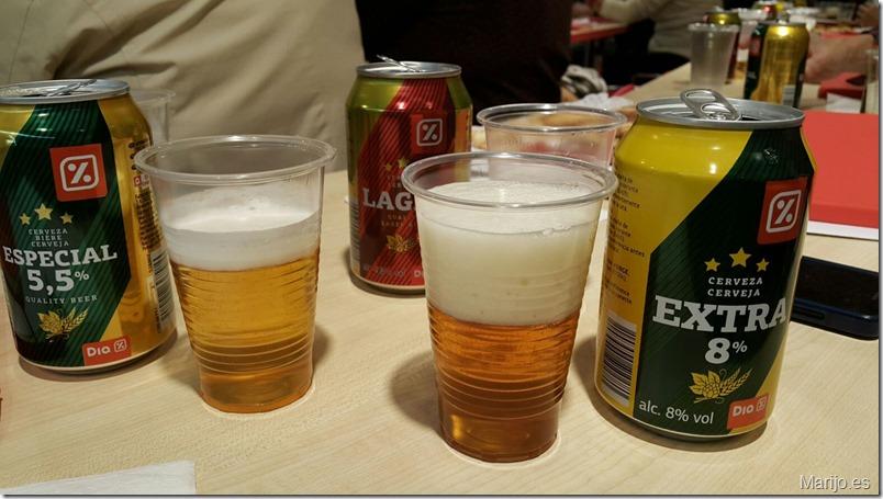 Cata de cervezas en Supermercados Día - Madrid_ (1)